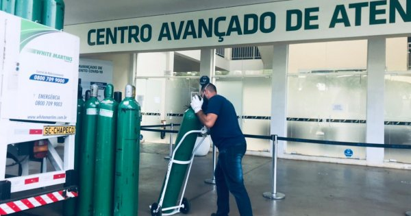 Centro Avançado de Atendimento Covid divulga horário de informes a familiares de pacientes